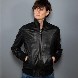 Vintage Calvin Klein leather jacket